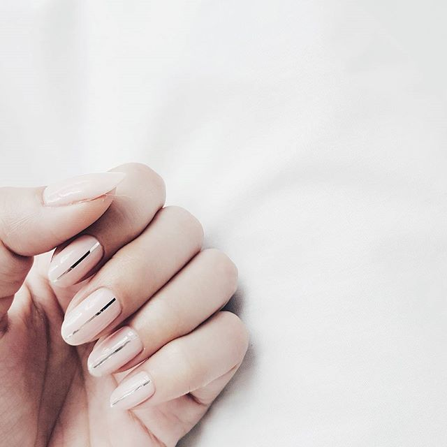 Nude-and-While 10 HOTTEST NAIL TRENDS TO TRY IN 2020