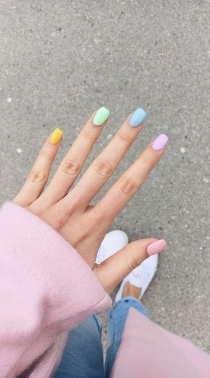 Wonderful-Summer-Nail-Colors-of-2020-22 Wonderful Summer Nail Colors of 2020