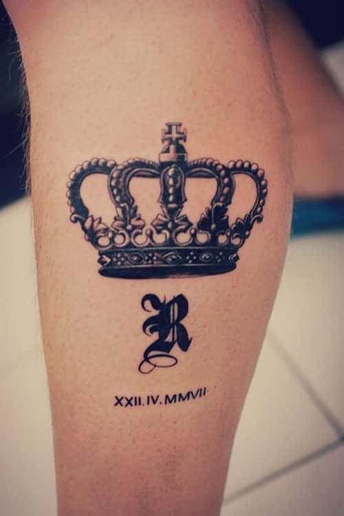 crown-tattoos-1-1 20 Brilliant Crown Tattoos You'll Need To See