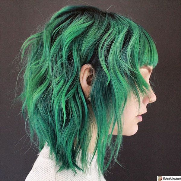 shaggy-hairstyle-for-thin-hair-1 20 Short and Green Hairstyles You Will Want to Copy