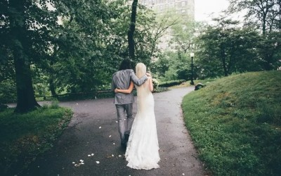 V & Z NYC -A Rainy Summer Wedding in Central Park