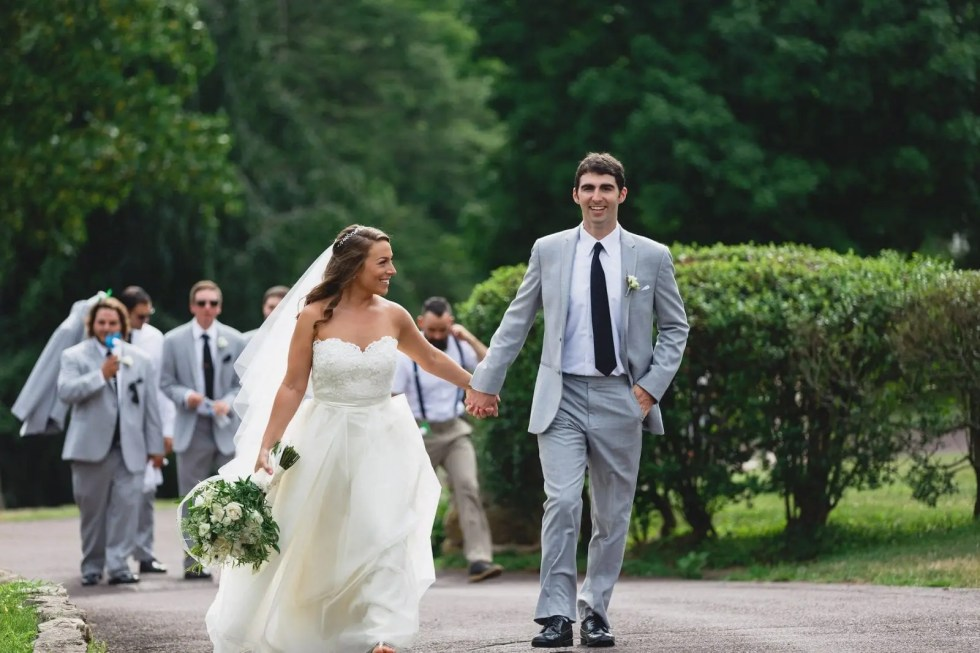 "From Elementary School to ""I Do""- A Beautiful Outdoor Wedding-"