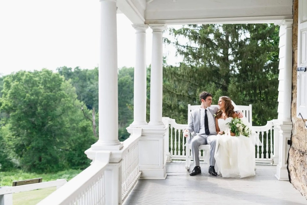 """From Elementary School to """"I Do""""- A Beautiful Outdoor Wedding-"""