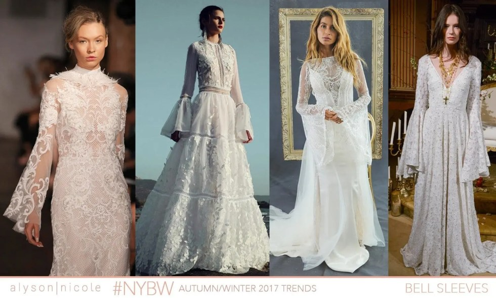 new york bridal week- bell sleeves