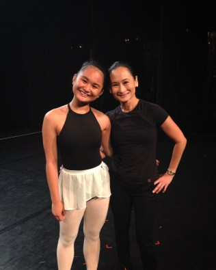 With the Prima Ballerina of The Philippines: Ms. Lisa Macuja