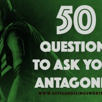 50 Questions to Ask Your Antagonist