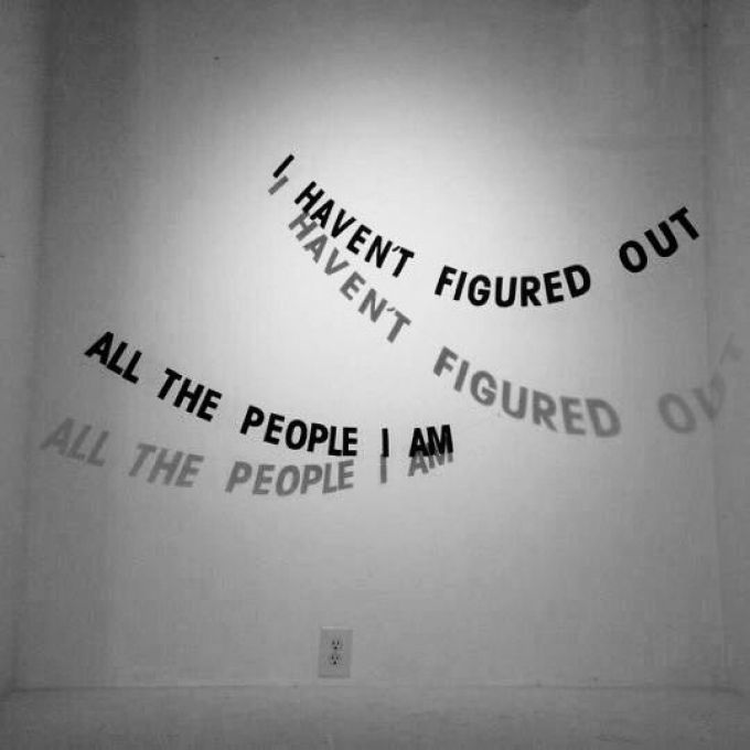 I haven't figured out all the people I am
