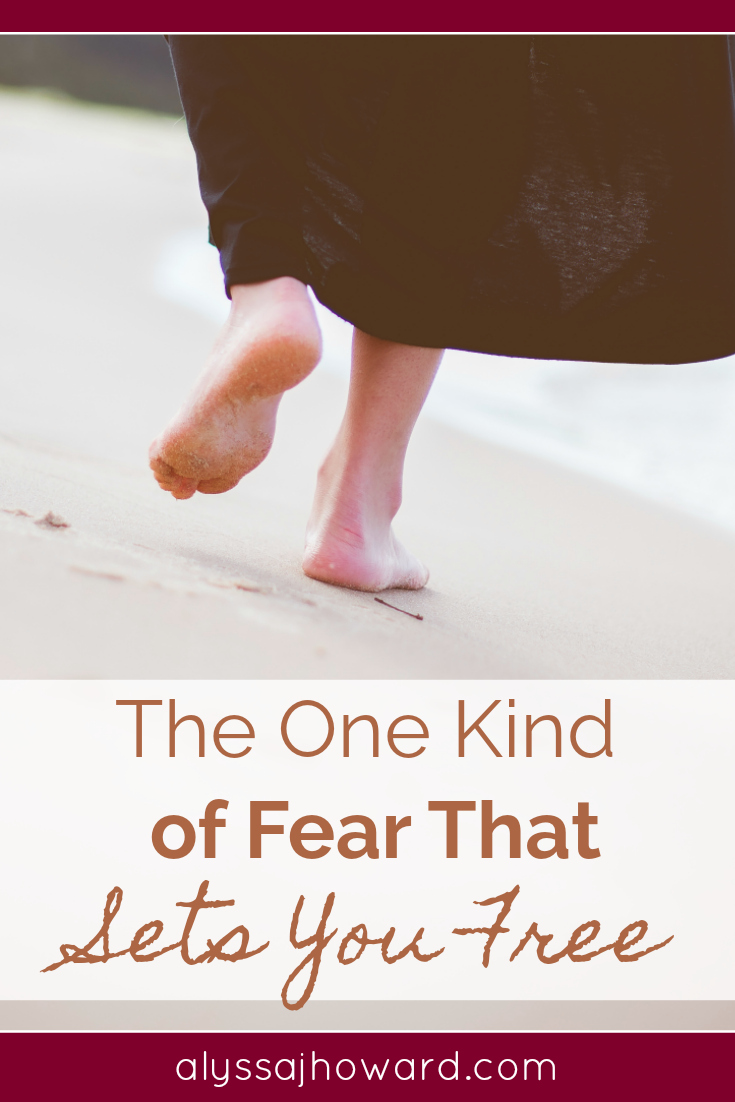 The One Kind of Fear That Sets You Free   alyssajhoward.com