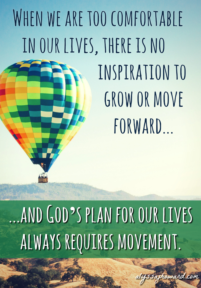 Embrace the Uncomfortable: Stepping Out of Our Comfort Zones to Grow in Our Faith   alyssajhoward.com