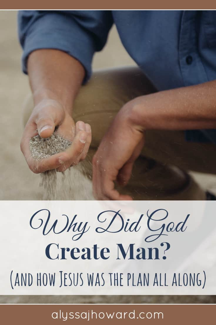 Why Did God Create Man? (and how Jesus was the plan all along)   alyssajhoward.com