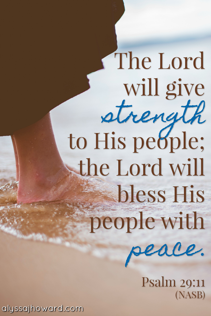 Encountering God's Peace When You're Emotionally Tired | alyssajhoward.com