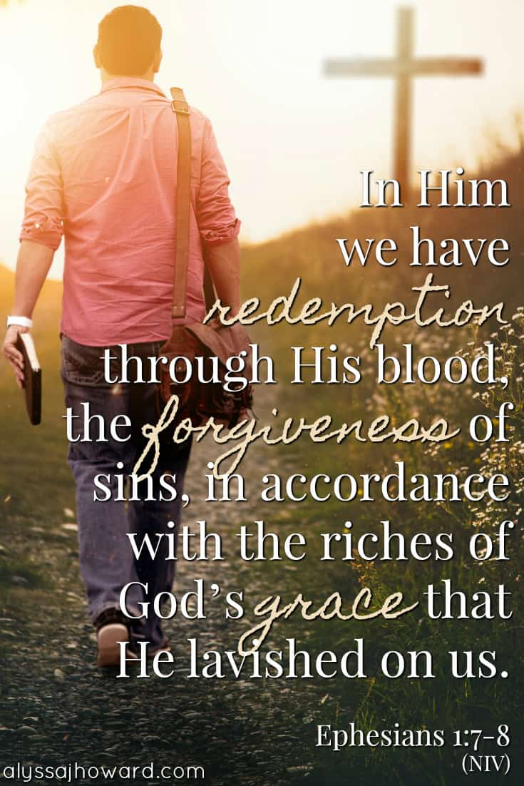 10 Bible Verses That Define the Grace of God | alyssajhoward.com