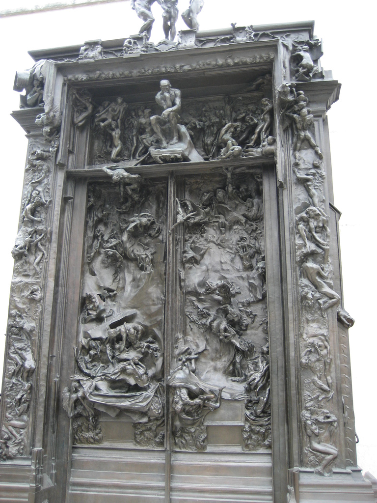 Art  Rodin s  La Porte de l Enfer   Gates of Hell    Musings of a     Share this