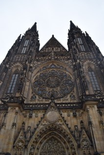 St. Vitus Cathedral, within the Prague Castle courtyards