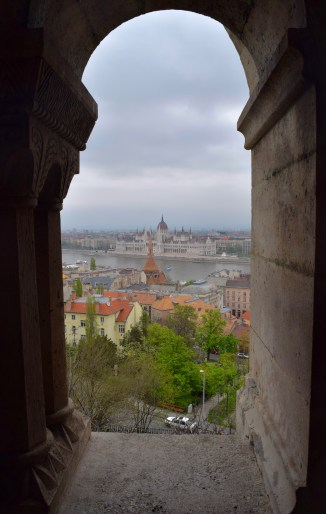 Parliament from Fisherman's Bastion