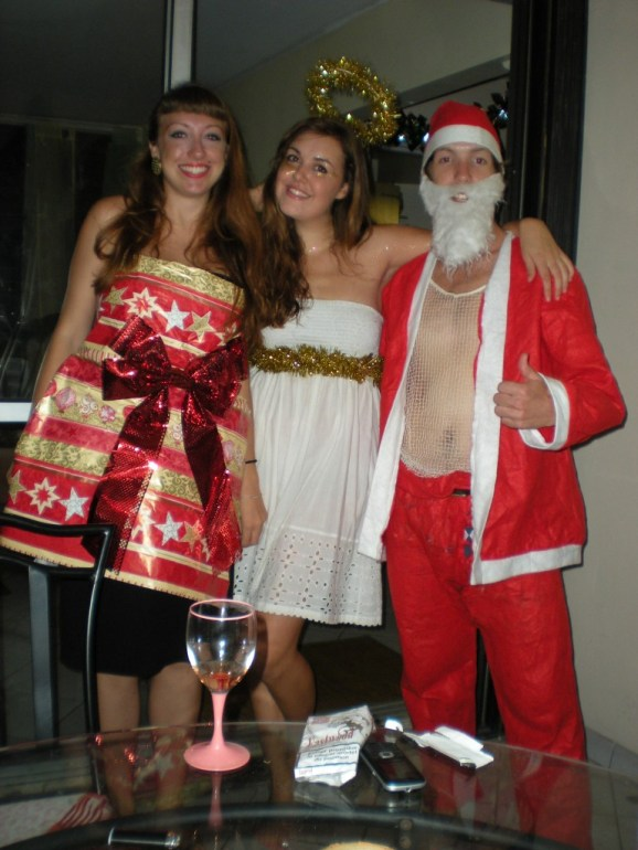 Fancy dress party, Christmas 2011