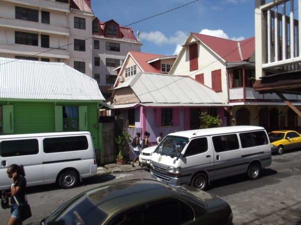 Streets of Roseau, Dominica