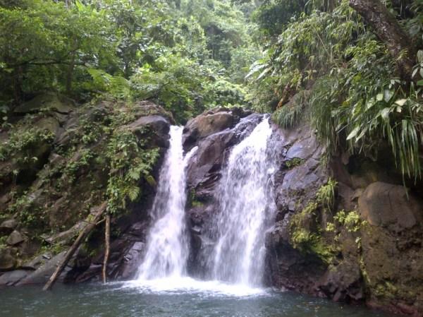 Didier, hike, randonnee, waterfall, cascade de didier
