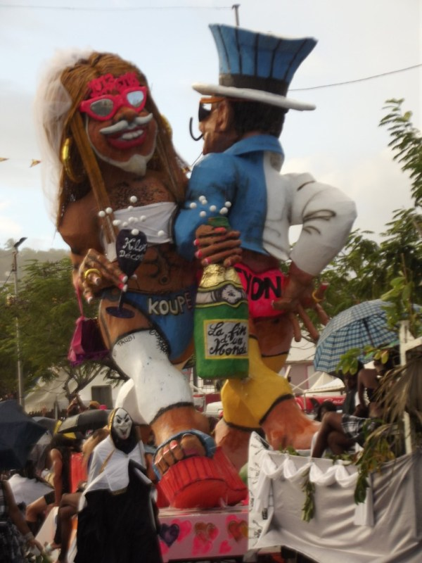 Vaval 2013: Koupé and Fyon, Martinique, Carnaval