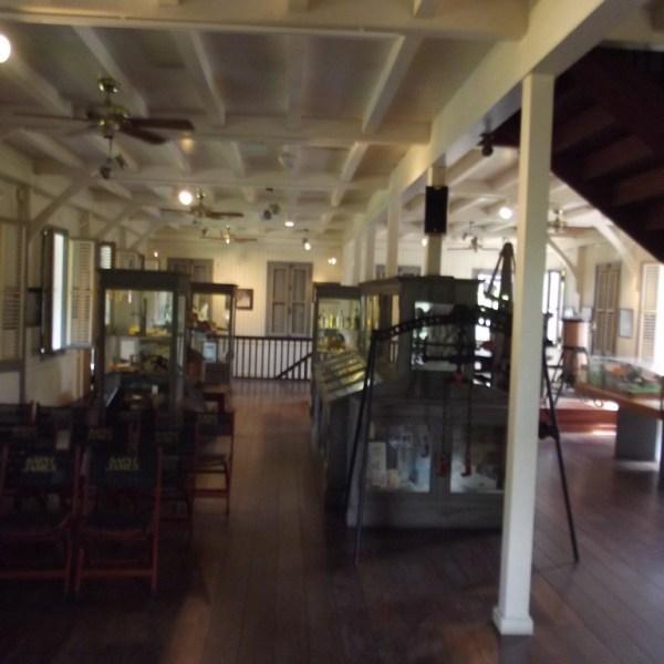 Musée du Rhum, Upstairs in the Saint-James Rum Museum