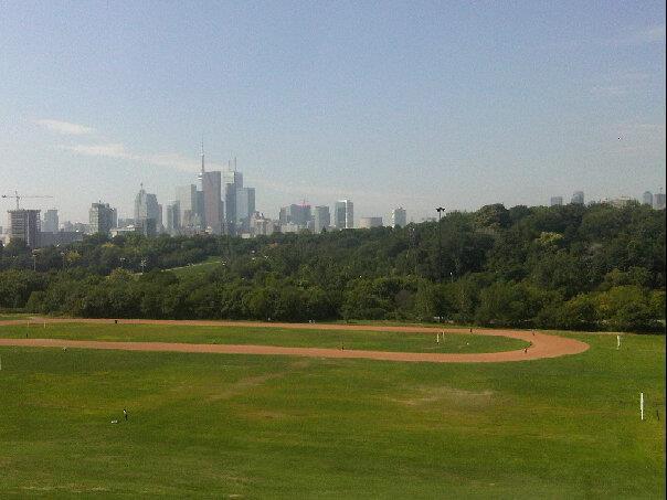 Riverdale park track, Toronto