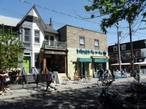 Kensington, Wanda's Pie in the Sky and Le Ti Colibri, Toronto