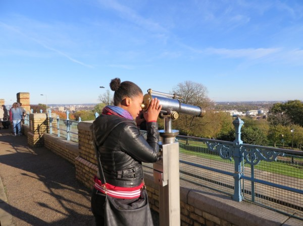 Ally Pally viewfinder