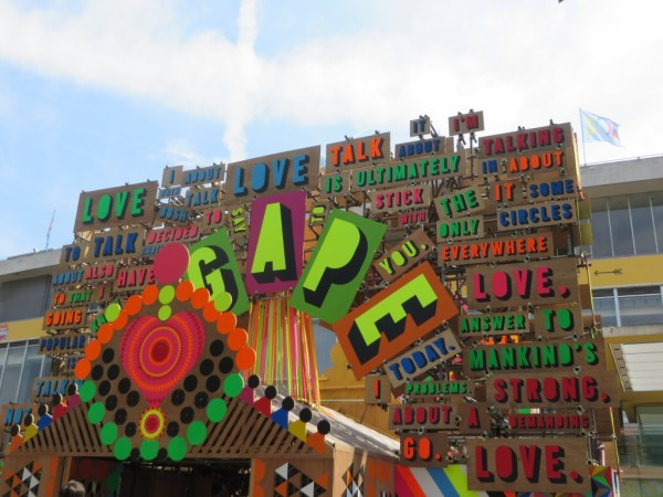 Temple of Agape, Morag Mysercough, Luke Morgan, Martin Luther King Jr, Southbank Centre, Festival of Love
