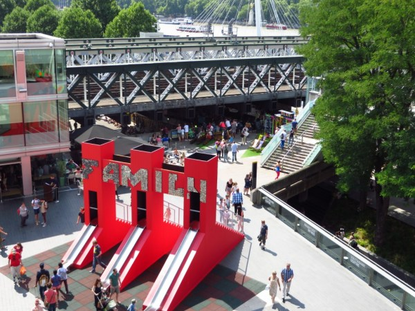 Sliding Gate, Sean Griffiths, Storge love, Festival of Love, Southbank Centre