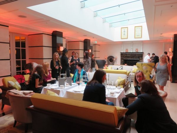 London Bloggers Tea, Conrad St. James Hotel, Christmas Afternoon Tea