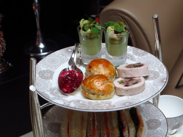 Christmas Afternoon Tea, Conrad St James Hotel, London