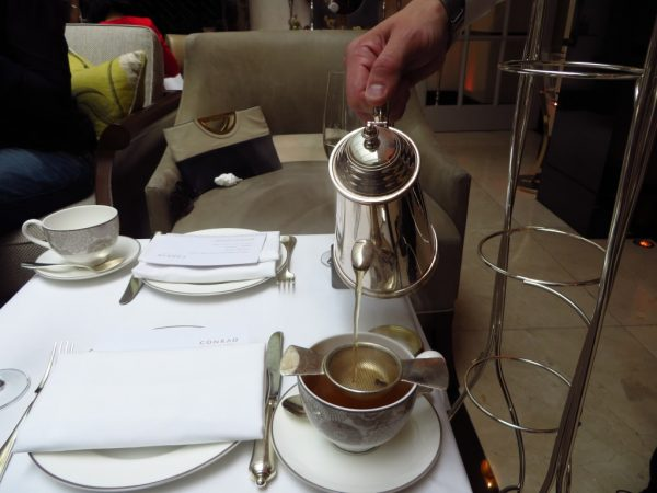 Vanilla Black tea, Christmas Afternoon Tea, Conrad St James Hotel, London
