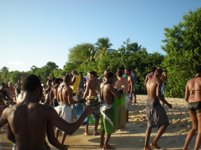 Men in Martinique, Beach in Les Salines, sex in martinique