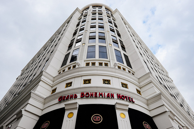 grand bohemian hotel, business hotels in orlando, hotels for business travelers
