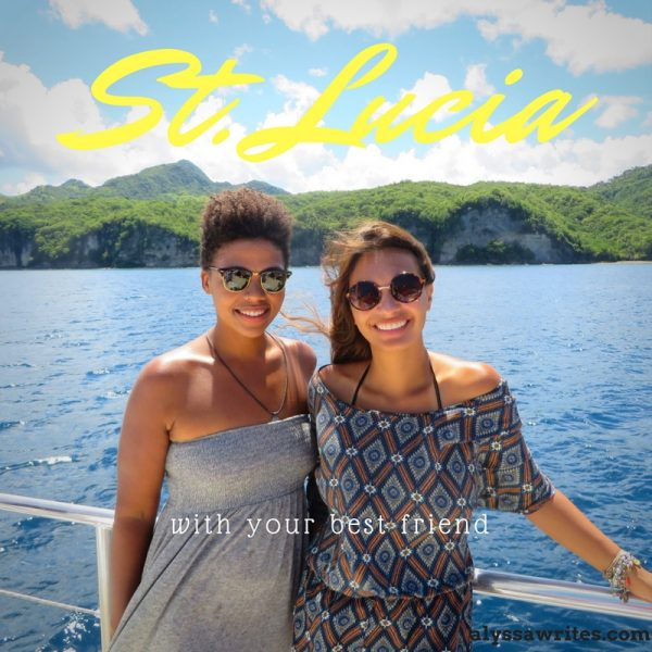 st lucia with your friends, things to do in st lucia, vacation in st lucia