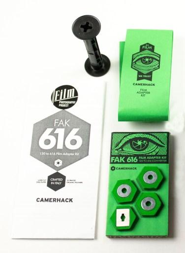 Camerahack Flak616 Film Adapter Kit