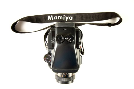 Mamiya 645 Pro with AE Prism