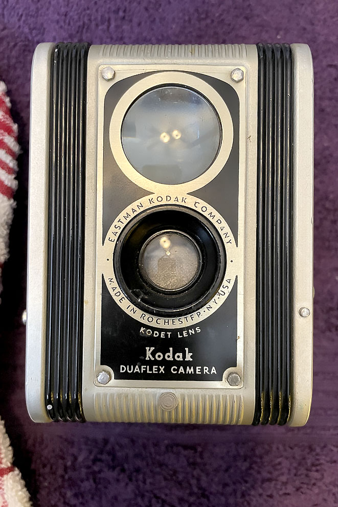 Kodak Duaflex before cleaning