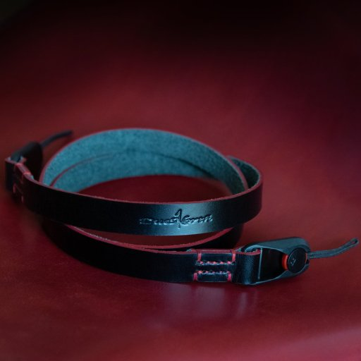 Baron Neck Leather Camera Strap W Peak Design Anchors