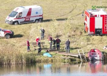 Talokių ežere rastas nuskendęs vyras