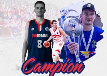 Rumunijos aukščiausios krepšinio lygos čempionas V. Kariniauskas