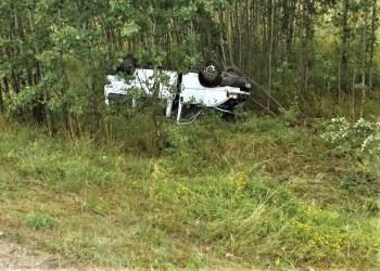 Dėl avarijos buvo sustabdytas eismas kelyje Leipalingis - Druskininkai