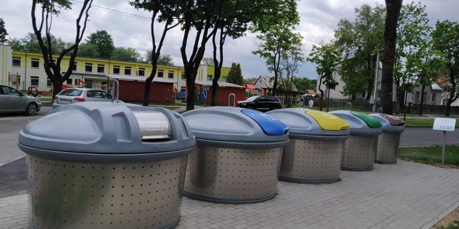 Nuo birželio 1 d. Alytuje pradedamos eksploatuoti naujos konteinerių aikštelės