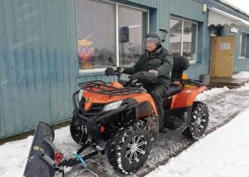 Simno, Daugų ir Butrimonių seniūnijų šaligatvius žiemą valo mažieji traktoriai