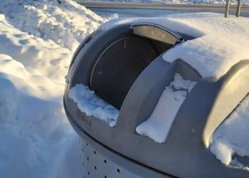 ARATC nuotr. Konteinerių angos yra standartinio dydžio, pritaikytos tinkamai išrūšiuotoms komunalinėms atliekoms išmesti