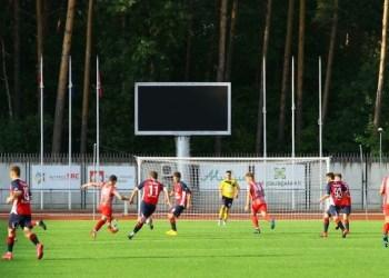 """Alytaus """"Vidzgiris"""" miesto derbio rungtynėse prieš DFK """"Dainavos"""" dublerius. Zenono Šilinsko nuotr."""