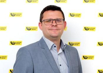 Lietuvos pašto tinklo vadovas J. Sadauskas