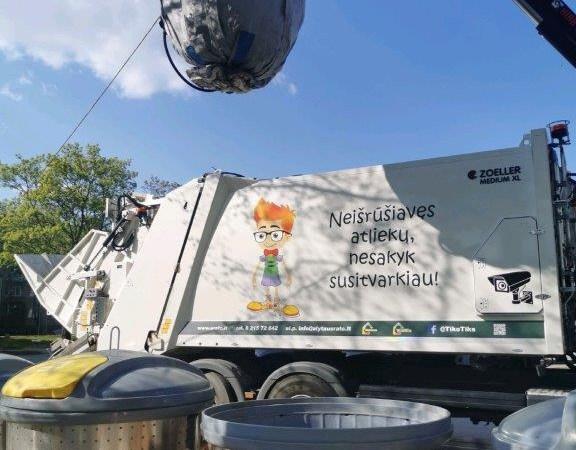"""ARATC tvarkė konteinerių aikšteles, iš kurių konteinerių atliekų laiku neišvežė """"Ekonovus"""""""