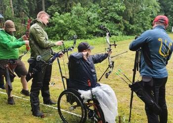 R. Baranauskas kovojo ne specialioje paralimpinėje, o bendroje įskaitoje