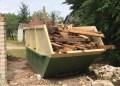 ARATC nuotr. Statybos, griovimo ir kitoms stambiosioms atliekoms Alytaus regiono atliekų tvarkymo centre galima išsinuomoti priekabas ir įvairių dydžių konteinerius.